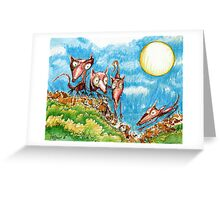 Rat Moon Greeting Card