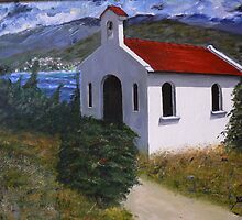 Kefalonia Chapel by Yianni Digaletos