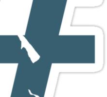 Scout Mug Design (BLU) Sticker
