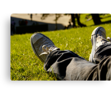 Kick back and relax Canvas Print
