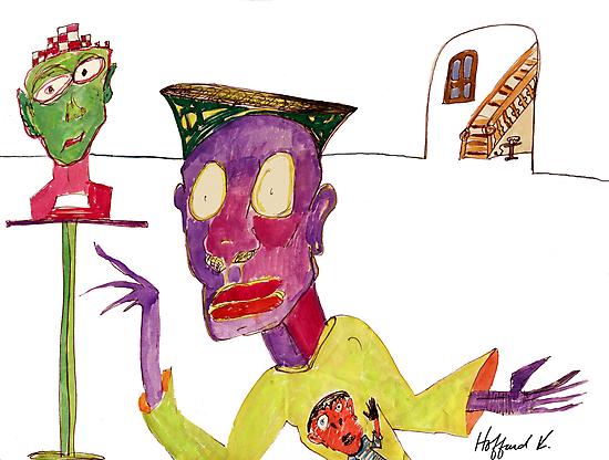 Art Admirer by Hoffard
