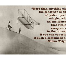 More Than Anything Else - Wilbur Wright  by Amantine