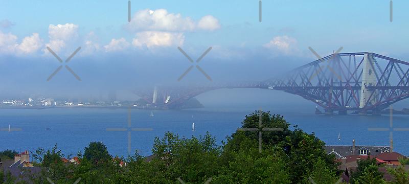 Misty Bridge by Tom Gomez