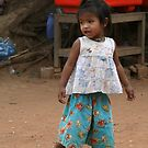 Wearing Mum's Shoes, Cambodia by Leigh Penfold