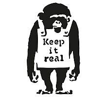Banksy - Monkey Photographic Print