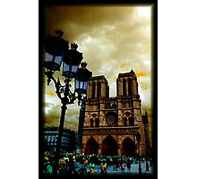 Notre Dame Cathedral Stands Strong Photographic Print
