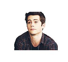 Dylan O'Brien is a puppy Photographic Print