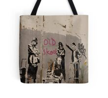 Old Skool - Banksy Tote Bag