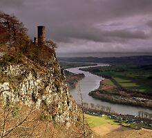 Kinnoull Tower by Douglas Robertson
