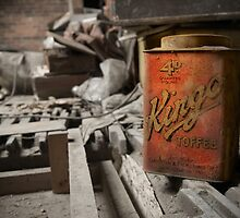 Toffee Tin in the Attic by Ann Garrett