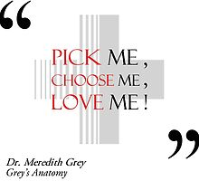 Pick Me, Choose Me, Love Me! by AquaDuelist