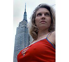 Supergirl Photographic Print