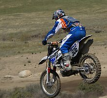 Motocross Action - Cahuilla CA Vet X Racing Series Rider #506 by leih2008