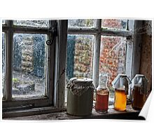 The Farmer's Kitchen Window  Poster