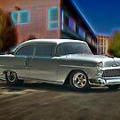 1955 Chevy 'Door Slammer' Post Coupe by DaveKoontz