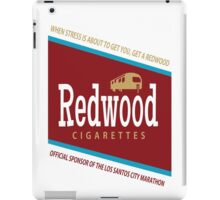 Redwood Cigarettes iPad Case/Skin