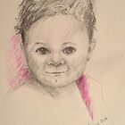 My granddaughter Sofia by Ivana Pinaffo