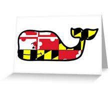 Vineyard Vines Maryland Greeting Card