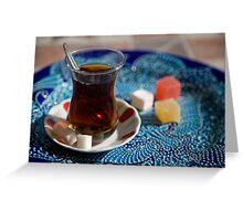Turkish Tea Greeting Card