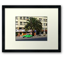 Life in the fast lane, in Mexico Framed Print