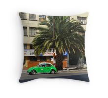 Life in the fast lane, in Mexico Throw Pillow