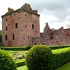 Edzell Castle From The Garden by jacqi