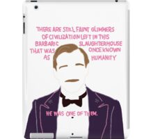 M.GUSTAVE -HE WAS ONE OF THEM iPad Case/Skin
