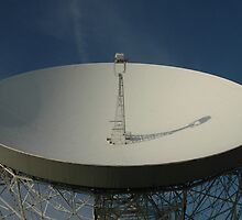 Lovell Telescope at Jodrell Bank by bubblebat