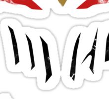 Zed Minimal shirt Sticker