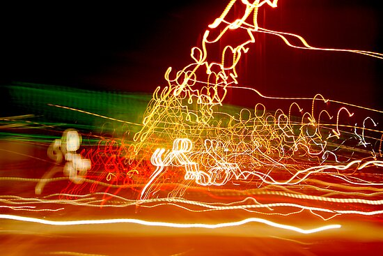 Nocturnal 3 by Bev Evans