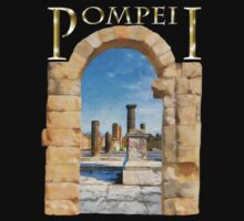 The Ruins Of Ancient Pompeii by Mark Tisdale