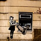 ATM - Banksy by Kiwikiwi