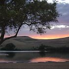 forebay sunset by Jerry Stewart