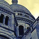 Sacre Coeur IV gradient map by shane22