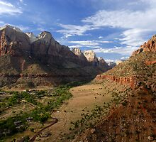 """Lower Zion Valley"" by David Lee Thompson"