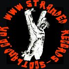 Stranded Records Logo ..  Badge / Patch by thesquarepeg