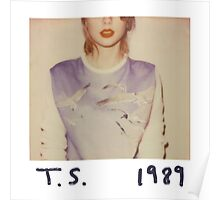 T. S. 1989 Poster