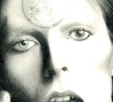 Ziggy Stardust - David Bowie Sticker