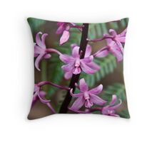 Hyacinth Orchid Throw Pillow