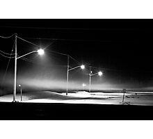 Ice Fog Photographic Print