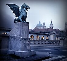 Ljubljana Dragon by Scott Harding