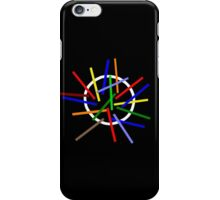 Depeche Mode : Sounds of the Universe Logo - 2 - Color for black iPhone Case/Skin