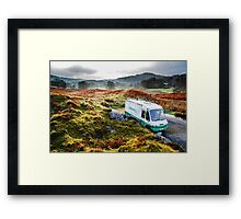 Library Van in the Lake District Framed Print
