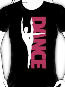 Dance Text Girl White T-Shirt