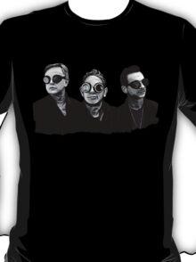 Depeche Mode : Fletch, Martin, Dave with welding glass (2) T-Shirt