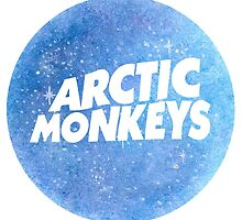 Arctic Monkeys Galaxy Logo by ally1021