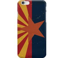 Arizona State Flag VINTAGE iPhone Case/Skin