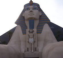 The  Luxor Sphinx Las Vegas by judygal