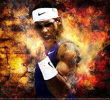 Rafael Nadal Tennis King of Clay by Givens87