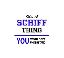 It's a SCHIFF thing, you wouldn't understand !! by thestarmaker
